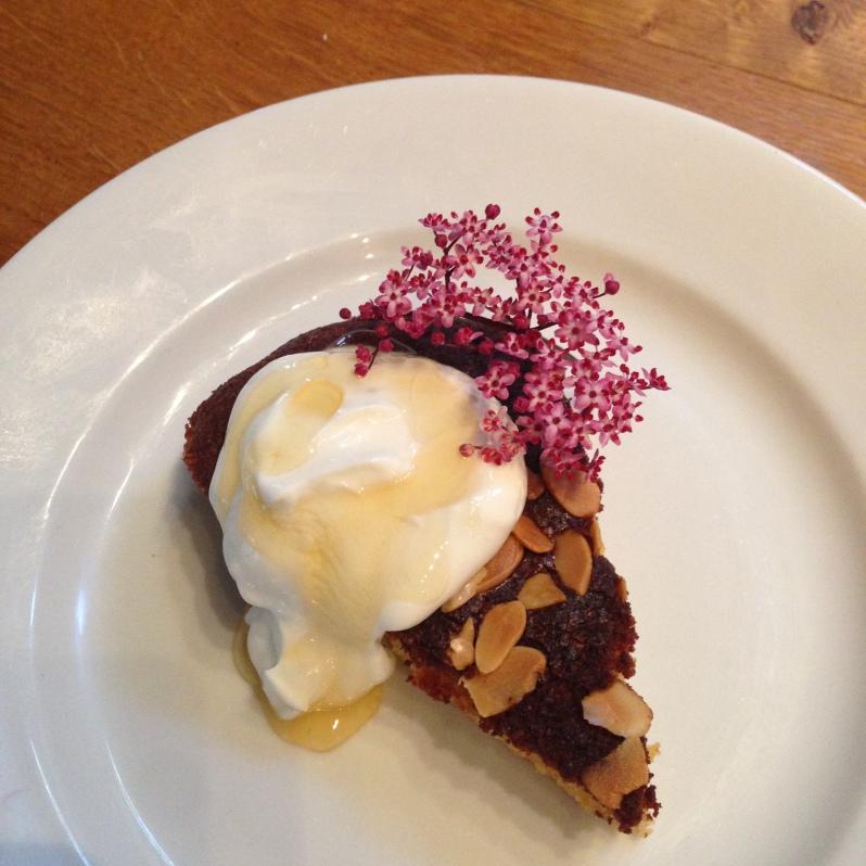 Gooseberry and Honey Cake