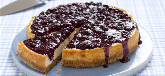 black currant cheesecake