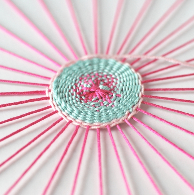 Circular+loom+DIY+weaving+in+progress