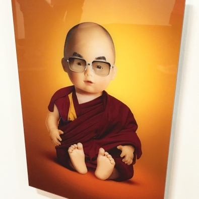 Baby Dalai Lama by Dito Von Tease