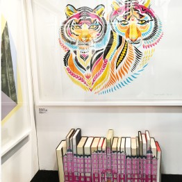 Tigers by Margaux Carpentier and Book Building by Dan Speight