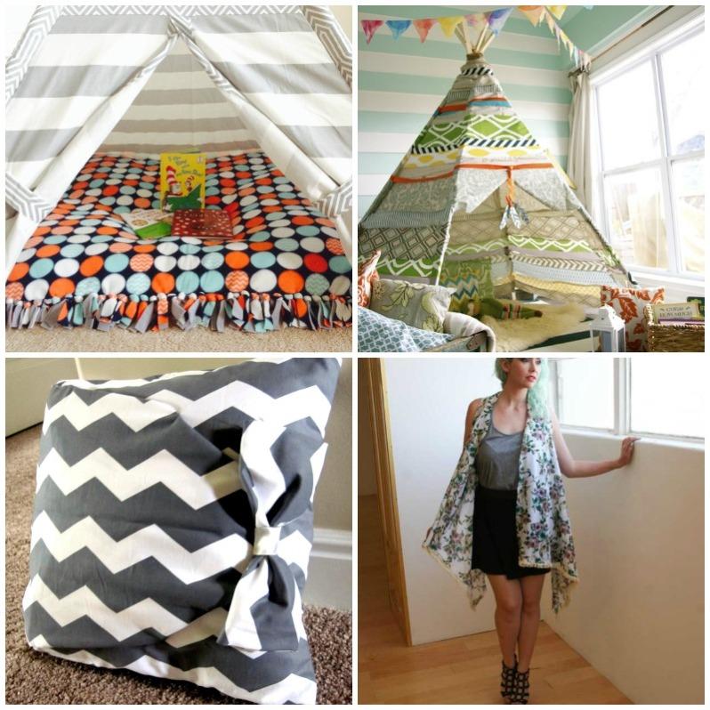 No sew fabric inspiration