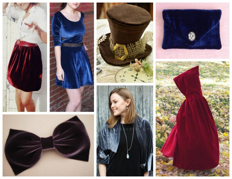Sewing with Velvet Inspiration