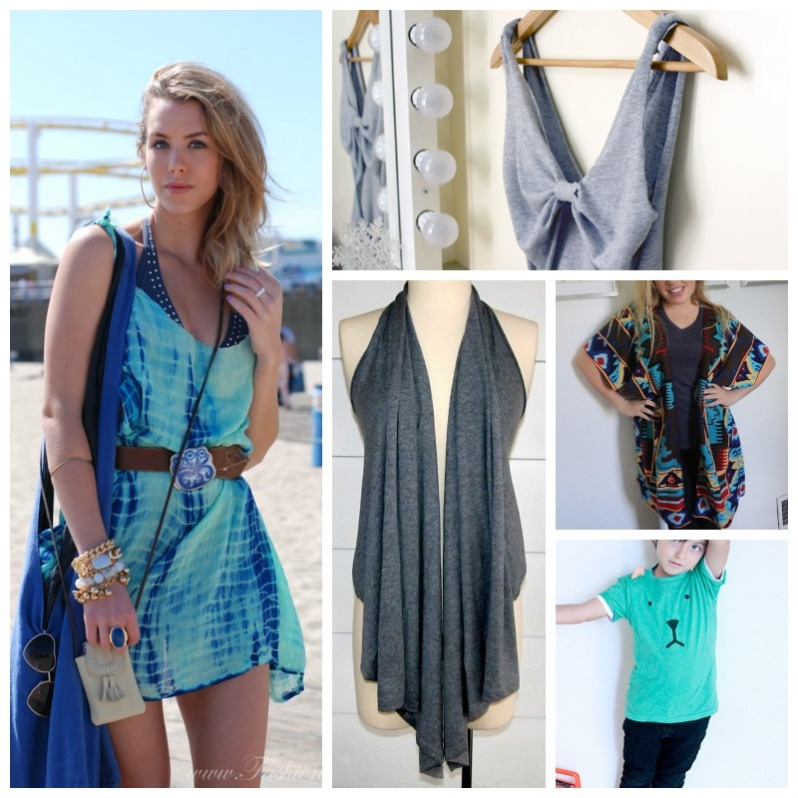 Easy clothes refashion
