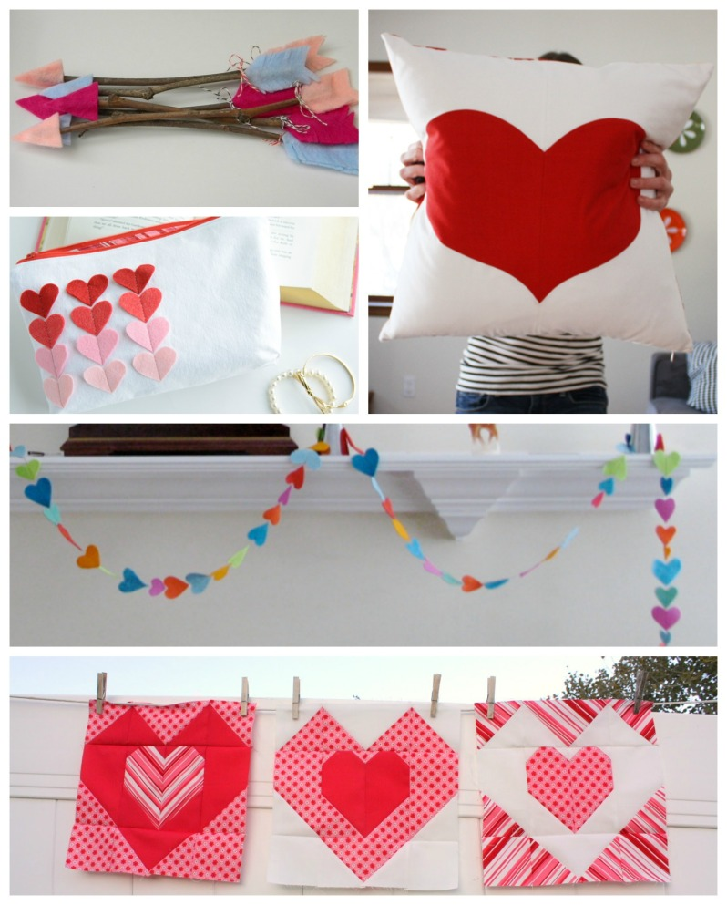 Valentines Day Sewing Crafts