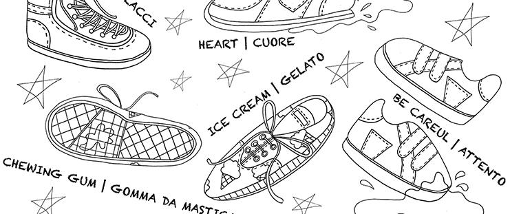 zig zag blog sneakers