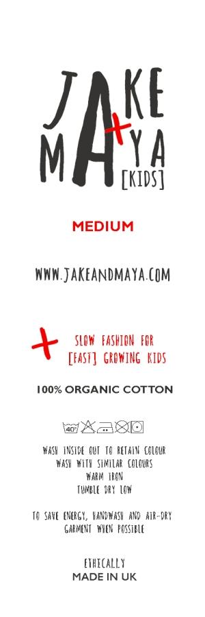 garment label grey