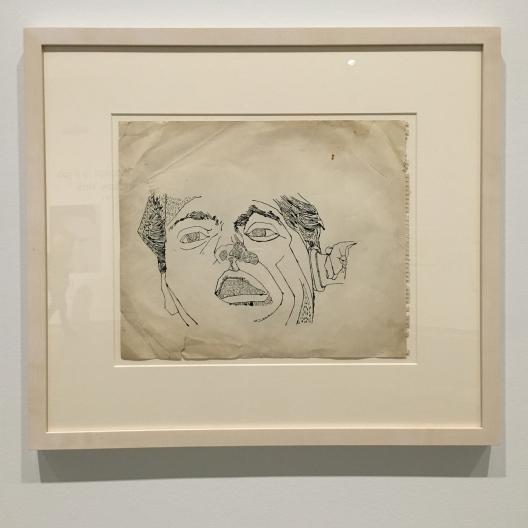 Man on the phone - Andy Warhol