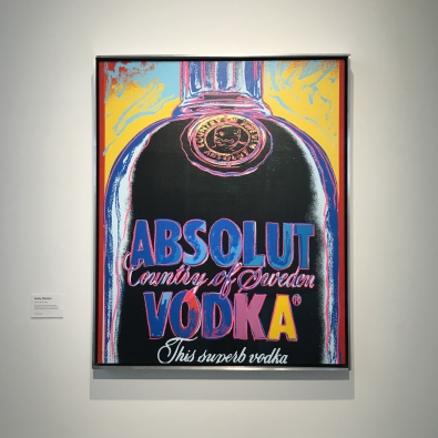 Absolute Vodka - Andy Warhol