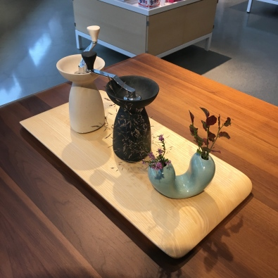 Pepper Mills and Vase - Artipelag