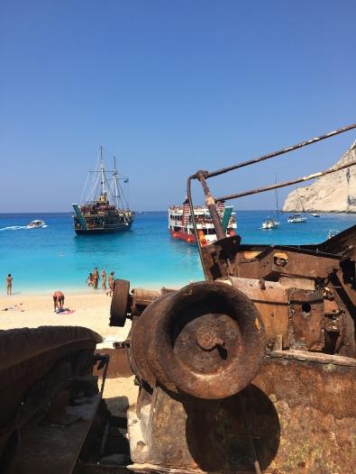 Shipwreck beach, Zakynthos
