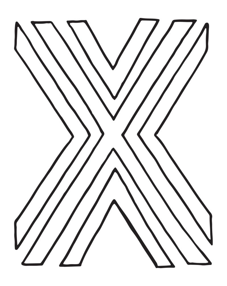 x-letterartchallenge
