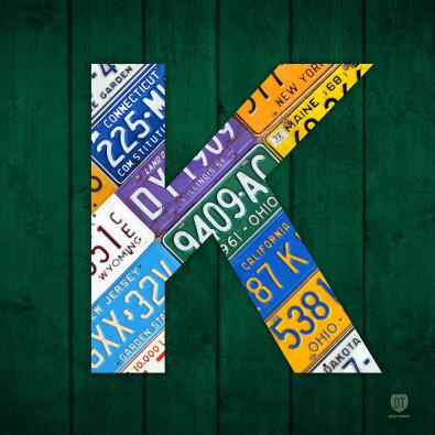 letter-k-alphabet-vintage-license-plate-art-design-turnpike