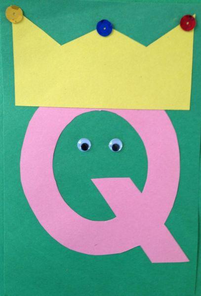 q-for-queen-letter-art-challenge