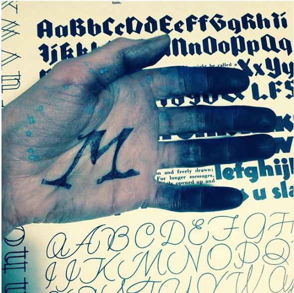 Letter Art Challenge - @jodiejaneartist