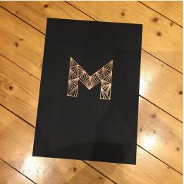 Letter Art Challenge - @fieldflower_design